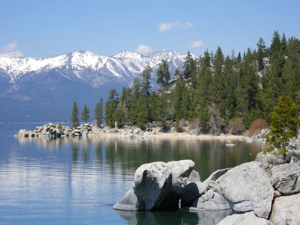 Lake Tahoe Nevada - what's not to like! Photo: Tony Brocklebank