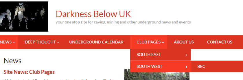 Site News: Club Pages