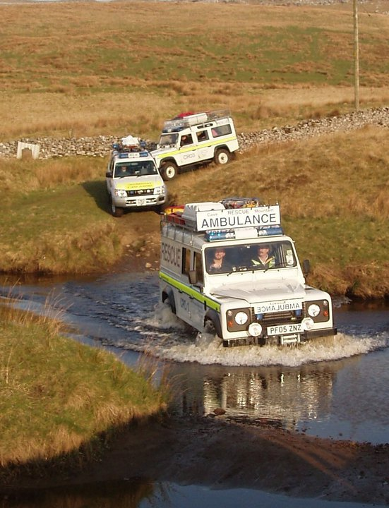 Rescue: CRO assist after flooding delays ambulance