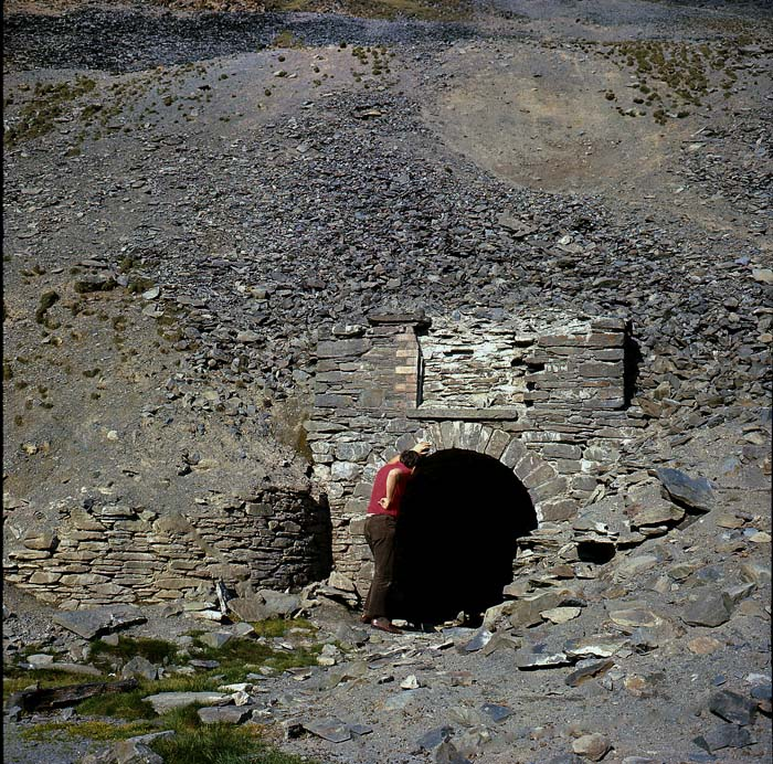 Cwmystwyth. Photo: www.cambrianmines.co.uk