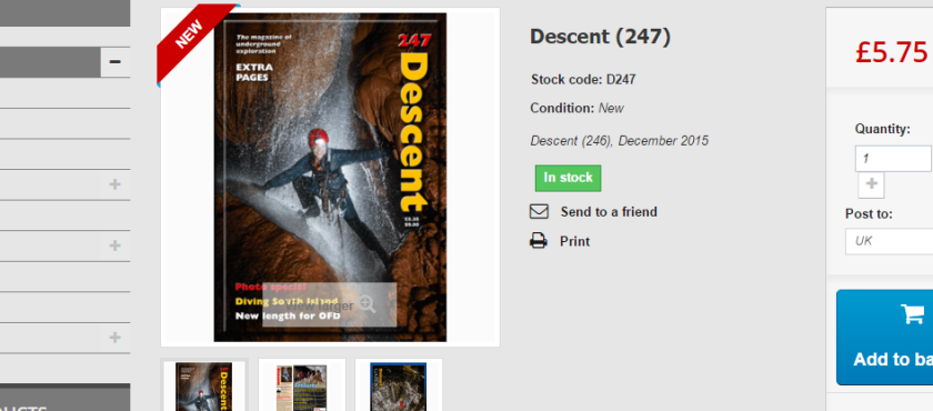 News: Descent 247 now available