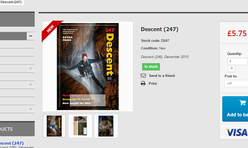 Descent 247 now available