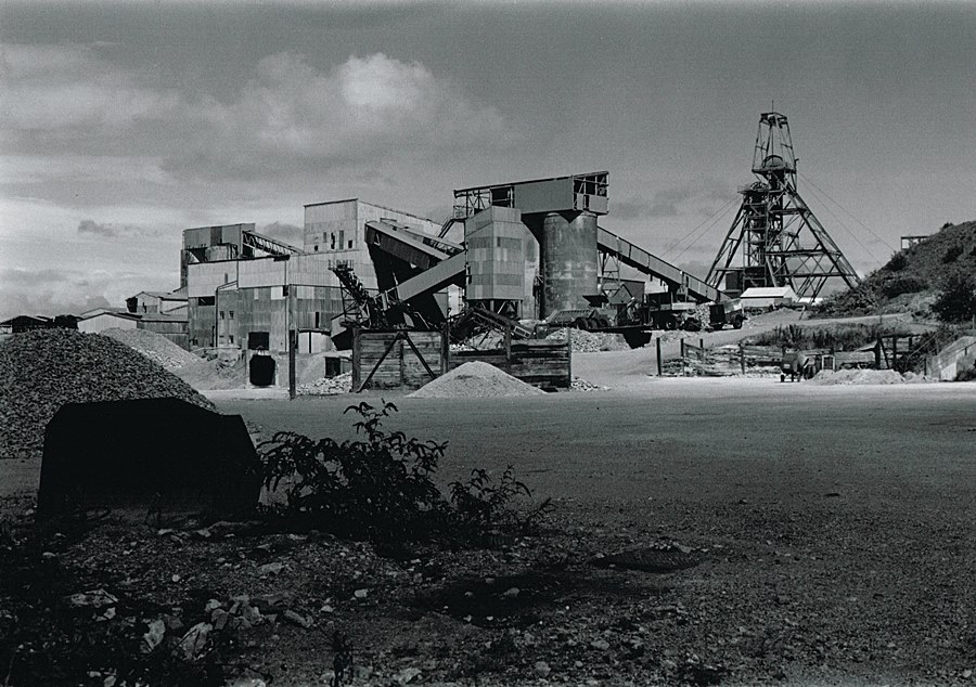 Surface view of South Crofty Mine. Photo: Simon Jones