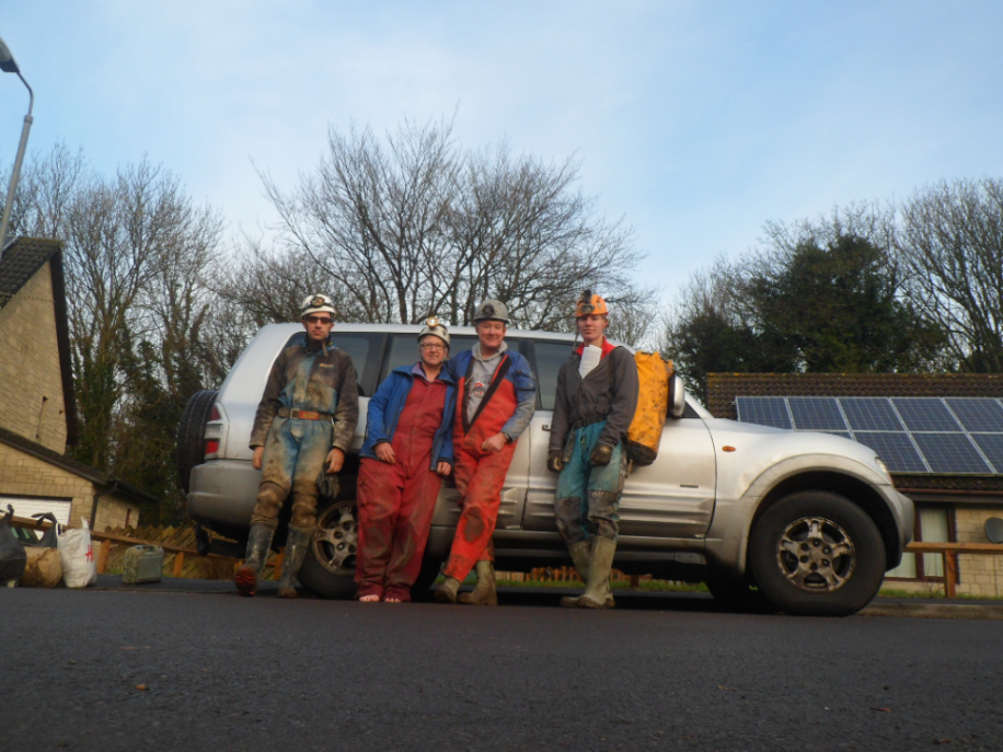 The DCMEG team after their hard work. Photo: Dan Snaith
