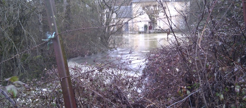 News: Doux de Coly resurgence and Dordogne rivers in flood