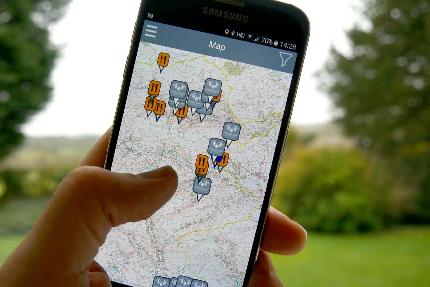 Exploring the mines of the Yorkshire Dales with the new app. Photo: courtesy of Yorkshire Dales National Park Authority