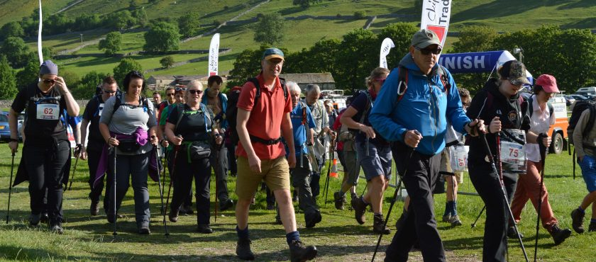 Event: Upper Wharfedale Fell Rescue Association Three Peaks Challenge