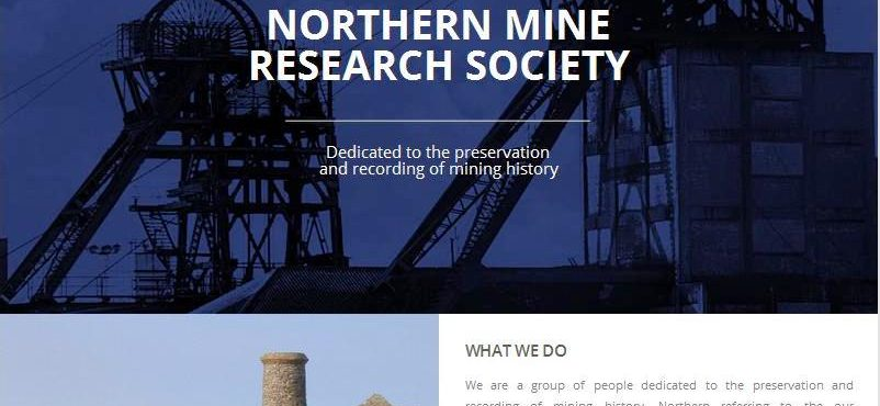 New Website : Northern Mine Research Society