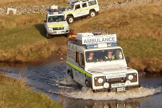 INCIDENT 74/2019 – Aug 21st. Wed. 13.56hrs – On rocks at the foot of Malham Cove, Malham, North Yorkshire – Mountain Rescue