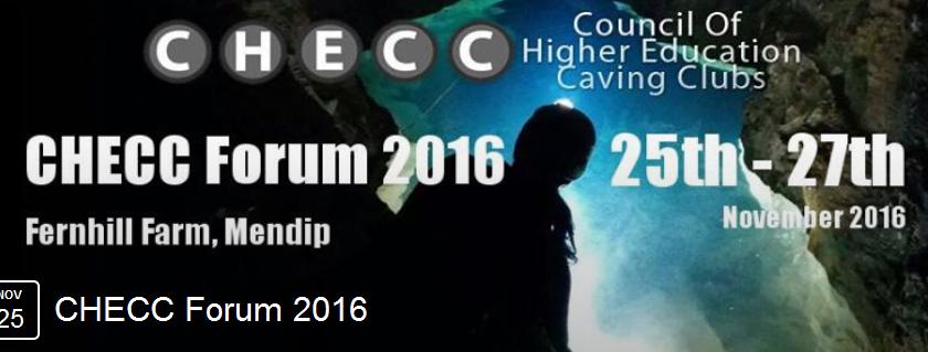 Event: CHECC Forum – 25th – 27th November 2016