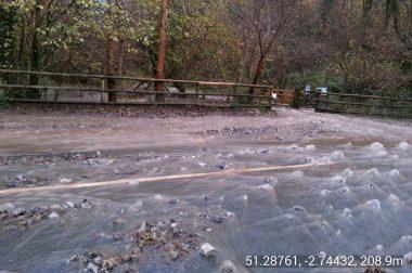 Flooding at Black Rock Gate