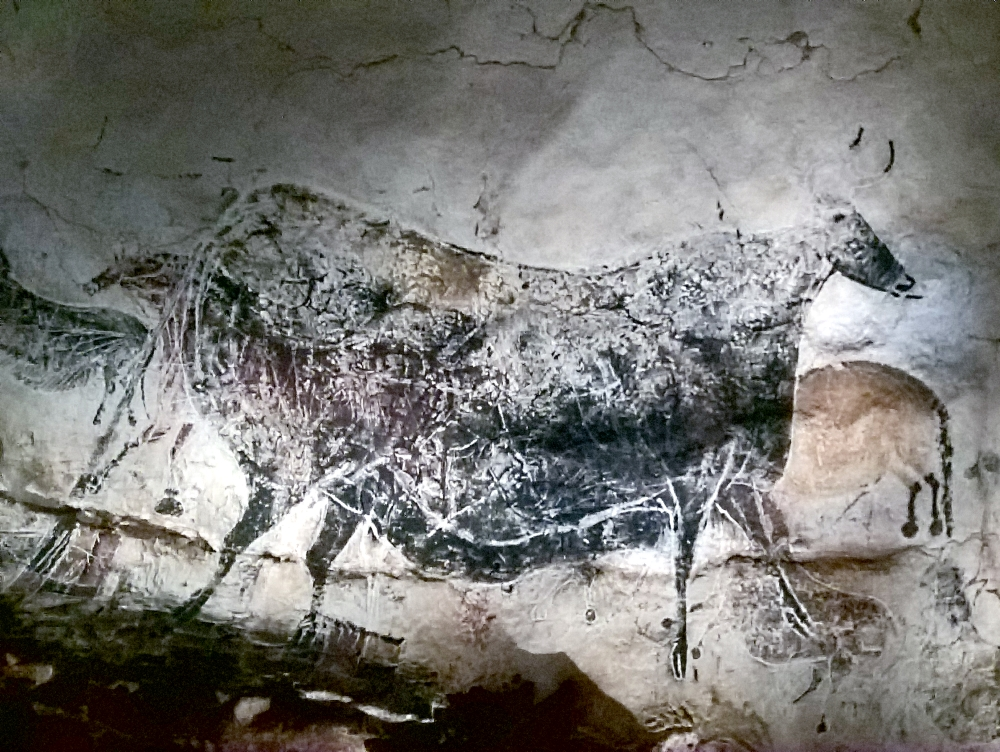 Bovine in the Axial Gallery, Lascaux IV