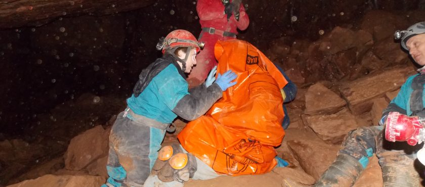 Cavers' Classroom First Aid Event – 7th October 2017