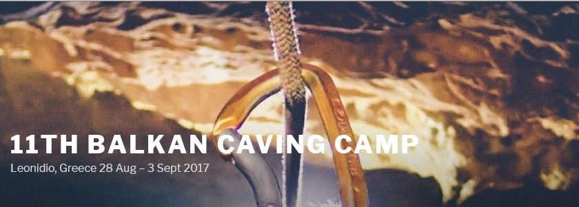 Event: The 11th Balkan Caving Camp, 28th August to 3rd September 2017