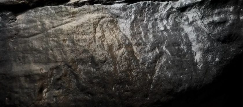 "Newly discovered ""Tally Marks"" in Church Hole, Creswell"