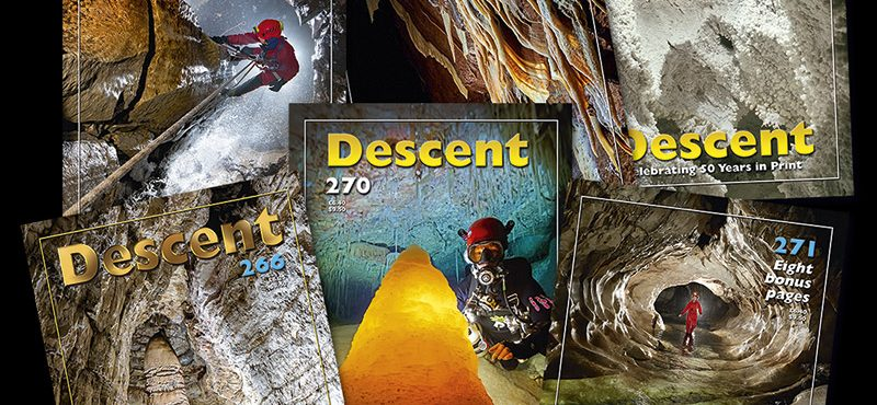 Coming soon in Decent 273 – why some cave tourists got an eyeful!