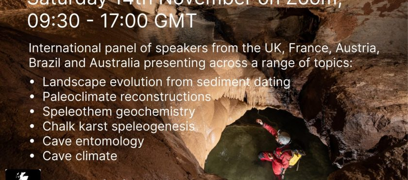 BCRA Cave Science Symposium and latest newsletter